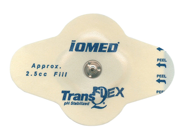 IOMED® disposable electrodes - TransQ Flex, 2.55cc, pack of 12