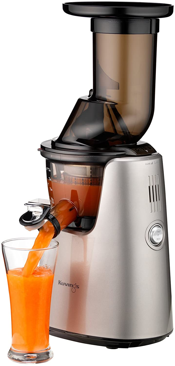 Kuvings C7000S Whole Slow Juicer Elite, Silver-Pearl