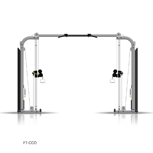Inflight Fitness, Cable Cross-Over, Monkey Bar Crossbeam, Rear Shrouds