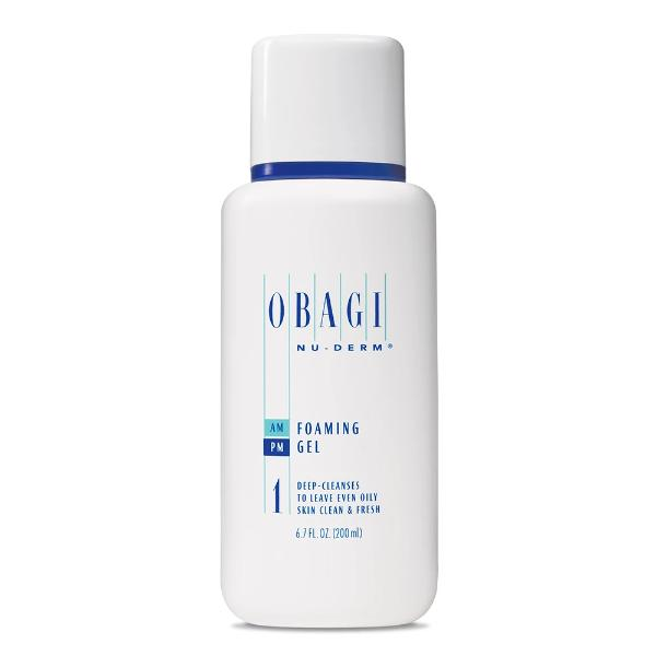 Obagi Nu-Derm Foaming gel- 6.7 fl. oz