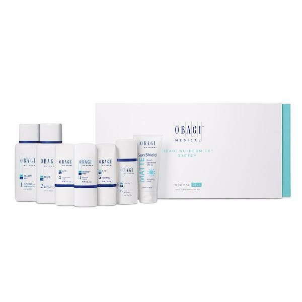 Obagi Nu-Derm Fx Starter System, Normal-Oily (8 pieces)