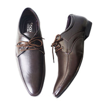 Brown Formal Lace Up Shoes For Men's