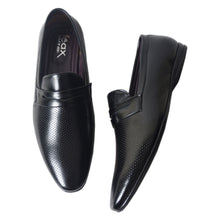 Load image into Gallery viewer, Foax Black Formal Slip On Shoes for Men's