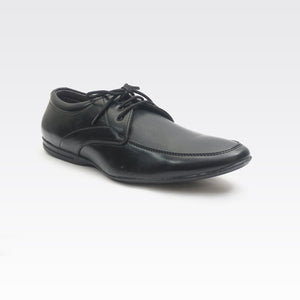 Foax Black Brogue Formal Lace Up Shoes