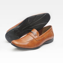 Load image into Gallery viewer, Foax Brown Party Wear Formal Shoes for Men's