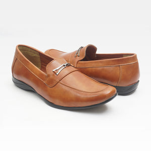 Foax Brown Party Wear Formal Shoes for Men's