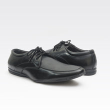 Load image into Gallery viewer, Foax Black Brogue Formal Lace Up Shoes
