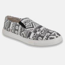 Load image into Gallery viewer, Foax Black And White Causal Shoes for Men's