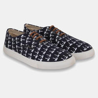 Navy Causal Shoes