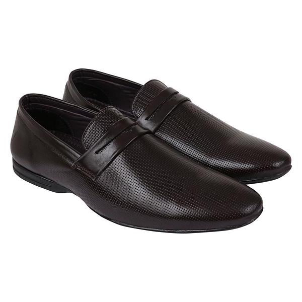 Brown Slip On Formal Shoes