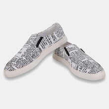 Load image into Gallery viewer, Foax Black and White Causal Slip On Shoes