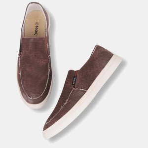Foax Brown Causal Shoes for Men's
