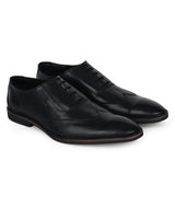ZIXER Leather Formal Shoes for Men's