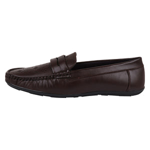 Foax Brown Loafers For Men's