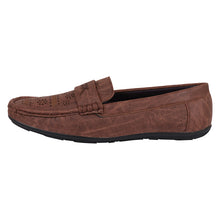 Load image into Gallery viewer, Foax Brown Loafers For Men's