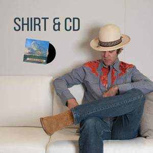 Boo Ray X H Bar C Bandana Chambray Western Shirt + TAF CD + Digital Download