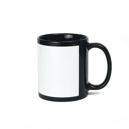 11oz. Ceramic Mug - Black - Instafreshener
