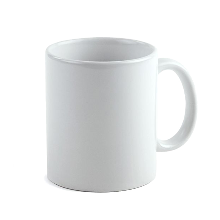 11oz. Ceramic Mug - White - Instafreshener