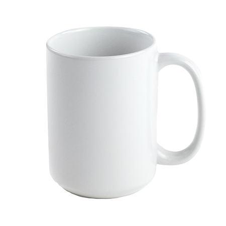 15oz. Ceramic Mug - White - Instafreshener