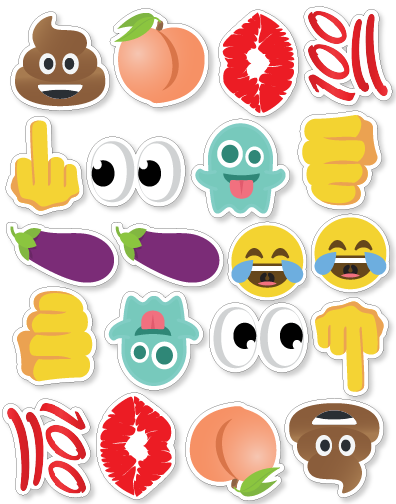 Emoji Sticker Set 3 - Instafreshener