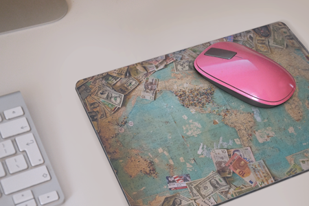 "Mouse Pad - Circle 7.5"" - Instafreshener"