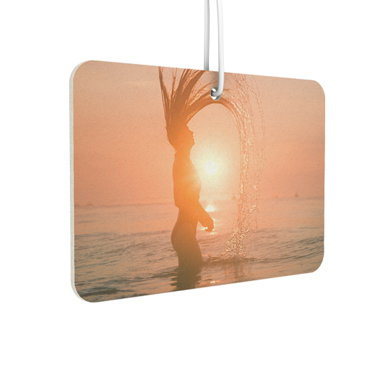Rounded Rectangle Landscape Air Freshener - Instafreshener