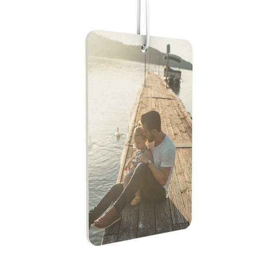 Rounded Rectangle Portrait Air Freshener - Instafreshener