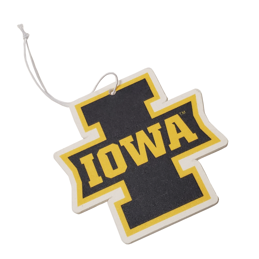 Iowa Hawkeyes - 'I' Block Iowa - Instafreshener