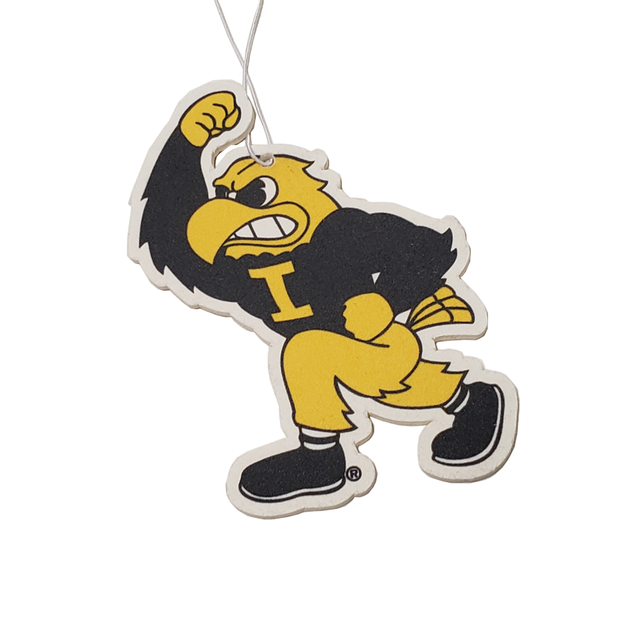 Iowa Hawkeyes - Fighting Herky - Instafreshener