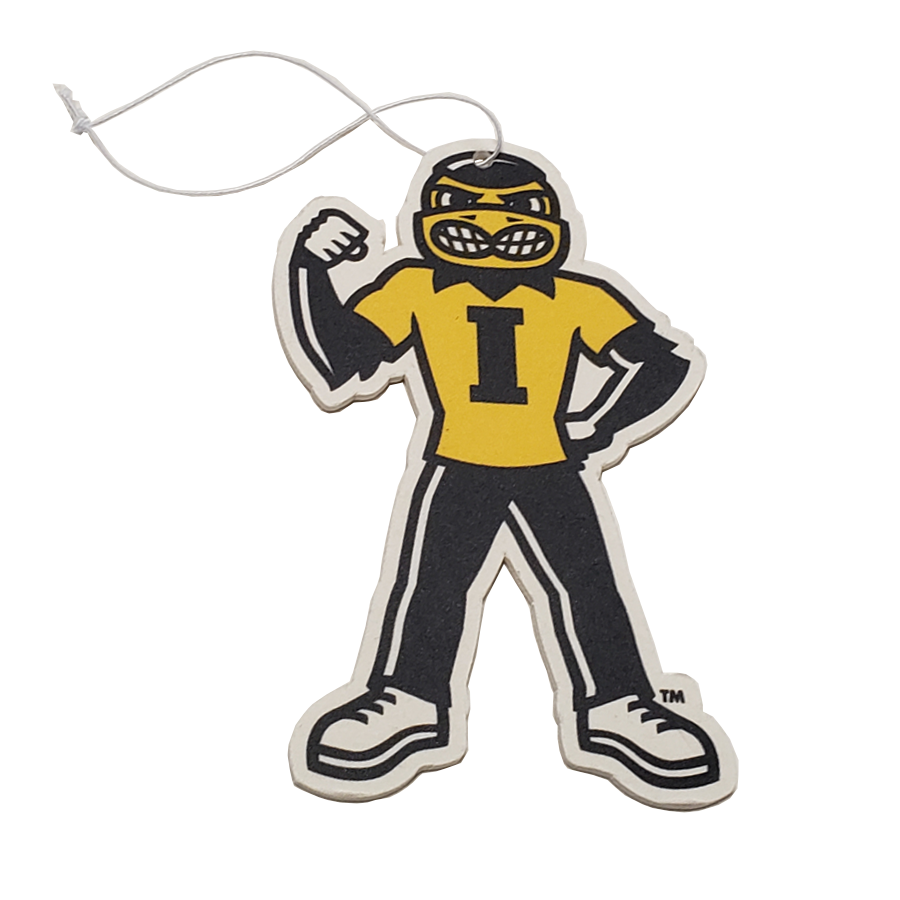 Iowa Hawkeyes - Herky Fist Up - Instafreshener