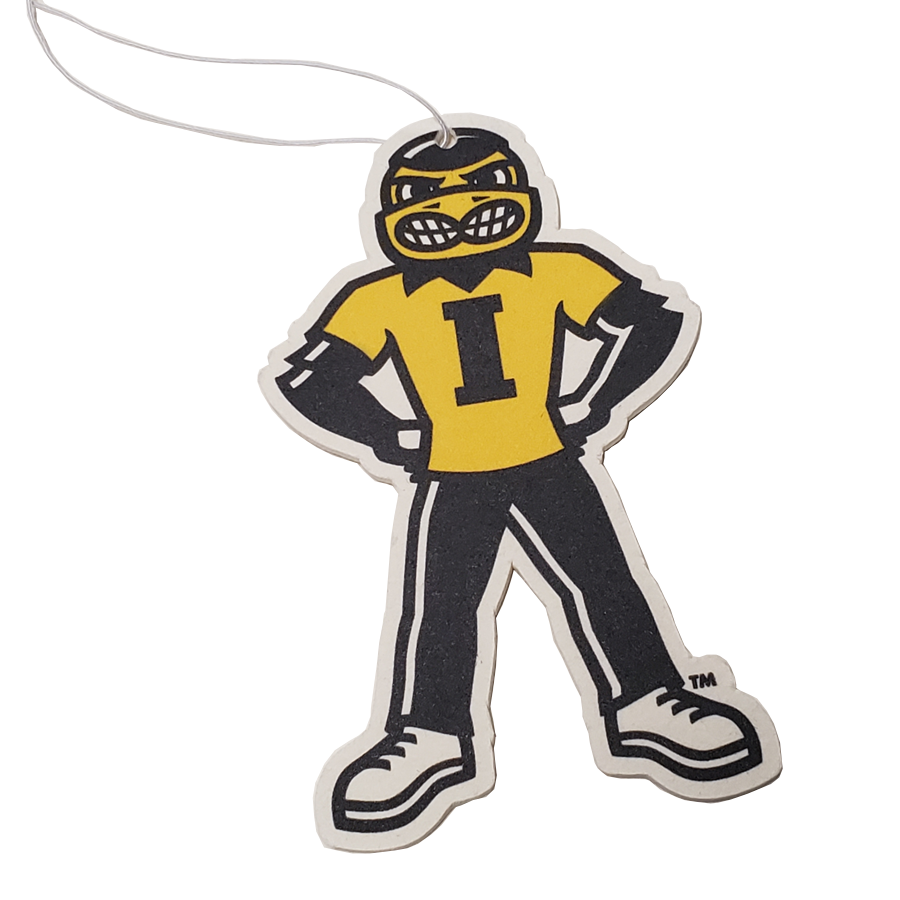 Iowa Hawkeyes - Herky Hands on Hips - Instafreshener