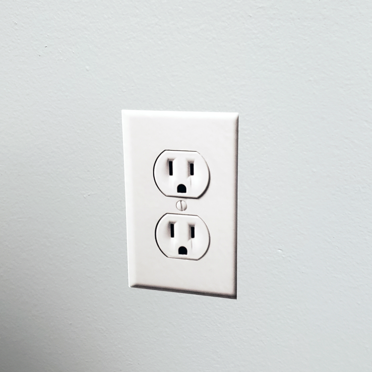 Faux Wall Outlet Stickers - 4 pack - Instafreshener