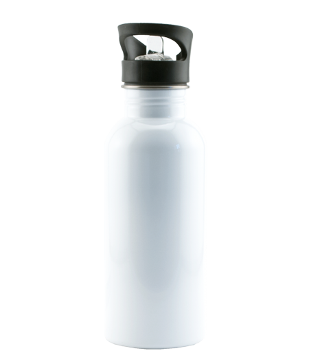 Stainless Steel Water Bottle with Straw Top - Instafreshener