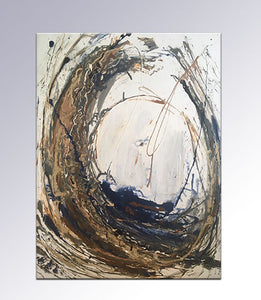 "Storm before Calm 48"" x 36"" x 1.5"""
