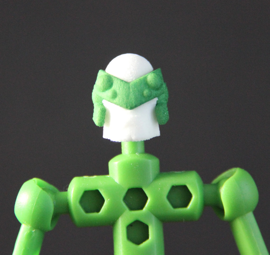 Cyberspook head for ModiBot figure kits