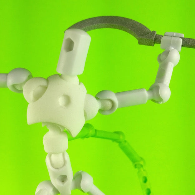 MoBility Stopmotion Torso for ModiBot Mo