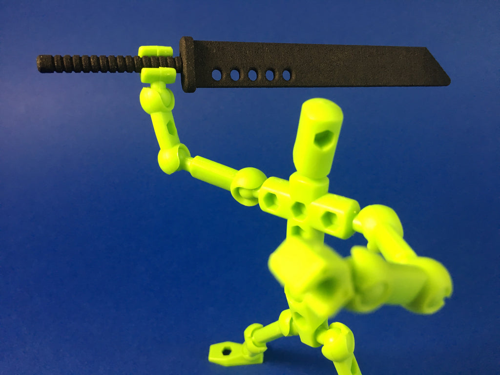2-handed Booster Sword for ModiBot figure kits
