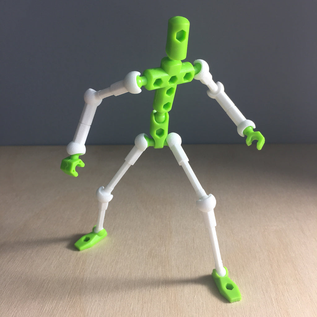 Adjustable arm/leg set for ModiBot