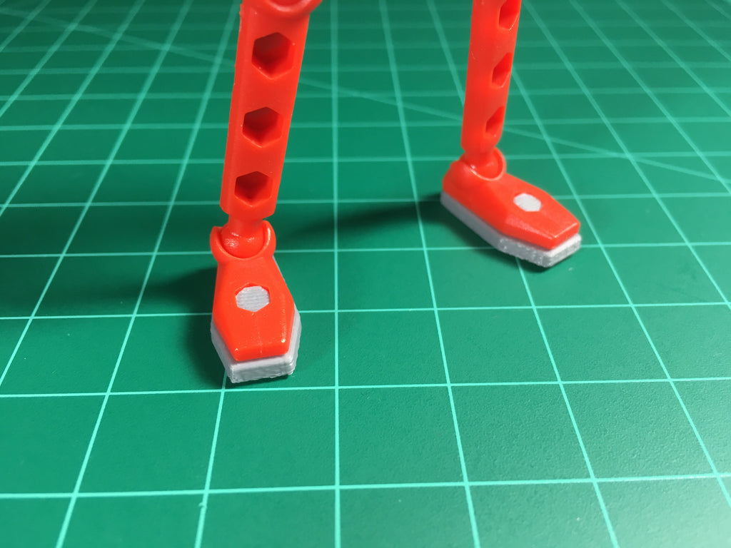 ModiBot Magnetic Soles for Stopmotion Animation