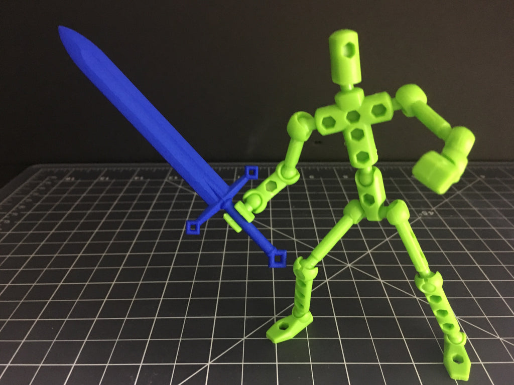 Claymore Sword for ModiBot figure kits