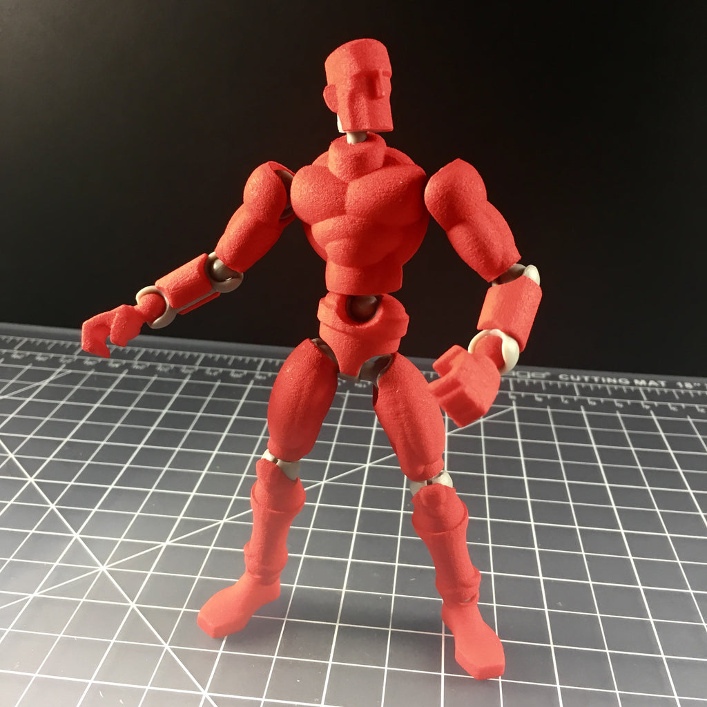 Bright Red Exo-Skin w/Mo figure frame