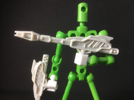 Transformers-compatible 5mm Hand set for ModiBot
