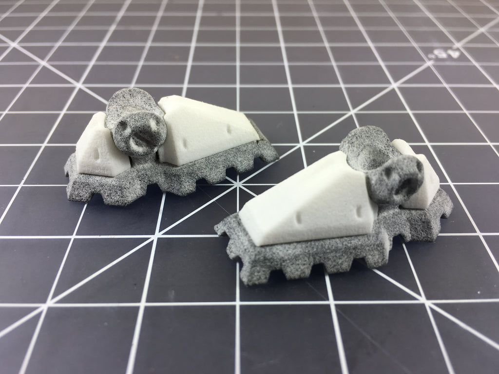 RoboSkin Mecha Foot Set for ModiBot