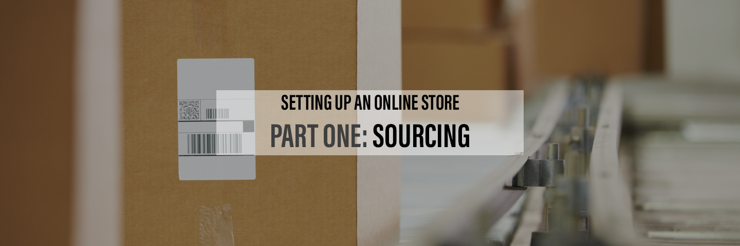 Setting Up an Online Store Part 1- Product Sources