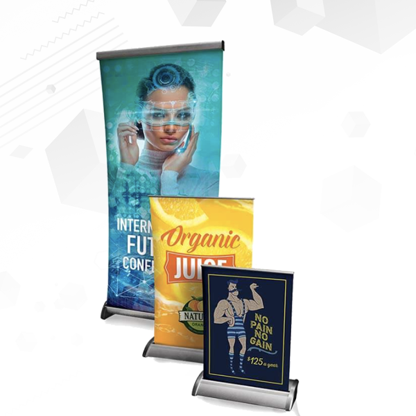 Tabletop Banner Displays