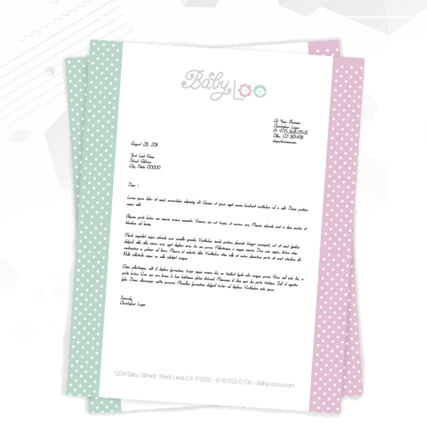 Letterhead Custom Design