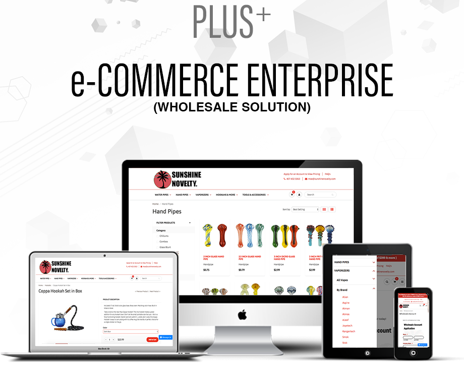 e-Commerce Plus Website Design Package