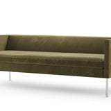 Angle Sofa with Tube Legs