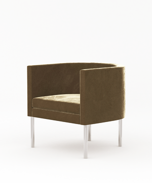 Arc Tube Legs Armchair