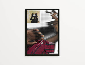 "Hands In The Studio For All, Black Lives Matter, Print Ain't Dead Edition - Of Original Work, Studio Hands #2 (Featuring Polaroid Of ""Bomb Duality"" Crown), 2020"